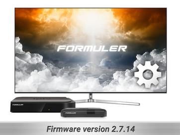 IPTV / Z Firmware Update 2.7.14