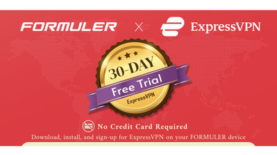 Exclusive Free ExpressVPN trial for FORMULER users