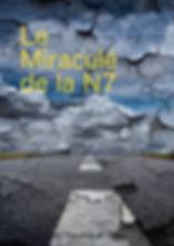 Route et horizon craquelés