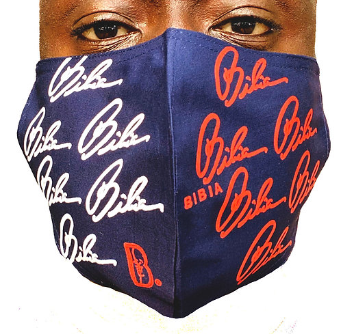 BIBIA Brand America Mask (Reusable, Washable, Breathable)