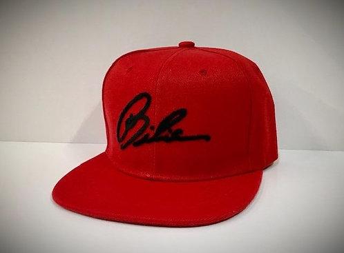 BIBIA Brand True Red Signature Cap