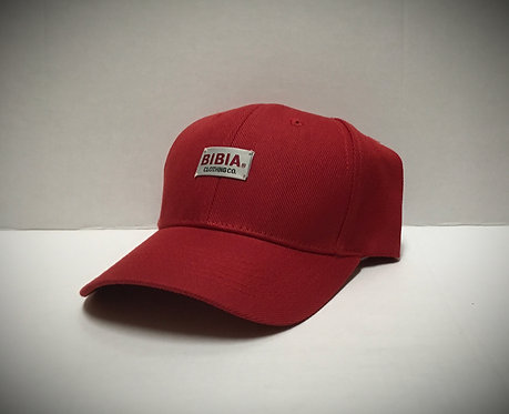 BIBIA Brand Woven Curve Chinese Red Cap