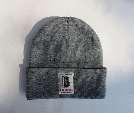 BIBIA Brand Grey Beanie Cap