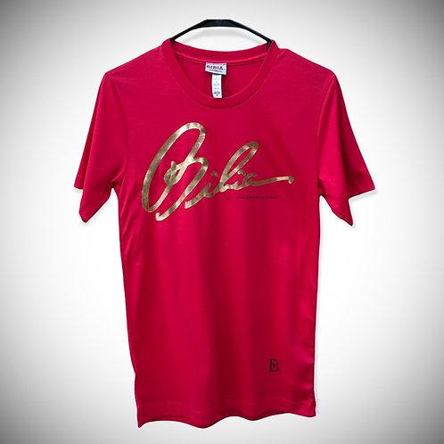 BIBIA Brand Red Signature T-shirt