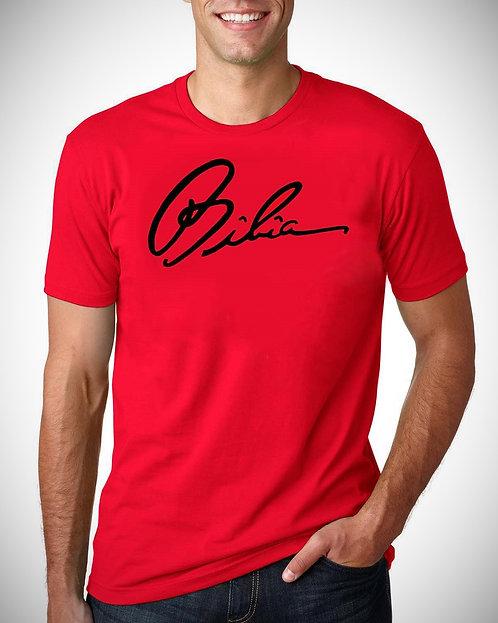 BIBIA Signature Brand True Red T-shirt