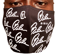 BIBIA Brand Signature Mask Black and Whi