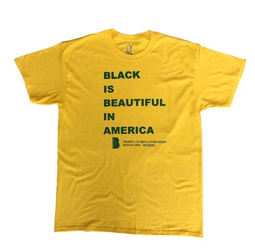 BIBIA Brand Culture Message T-shirt