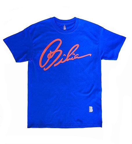 BIBIA Brand Signature Royal BlueT-shirt
