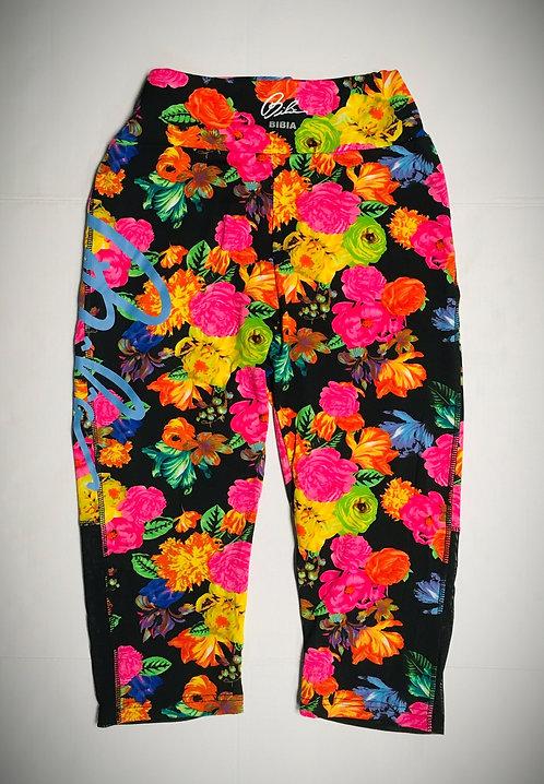 BIBIA Floral Love Signature Brand Leggins