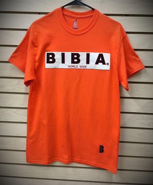 BIBIA Brand Chenille Orange T-shirt
