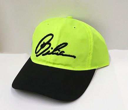 BIBIA Brand Flock Signature Neon Cap