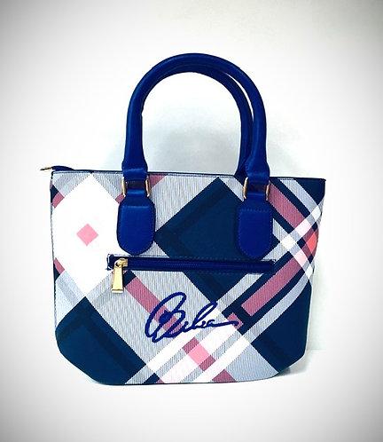BIBIA Signature Brand Blue Sapphire Woman Bag