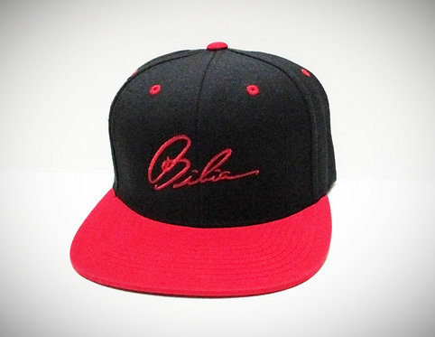 BIBIA Brand Signature Red Two Tone Hat