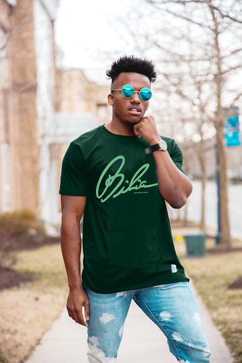 BIBIA Signature Forest Green T-shirt