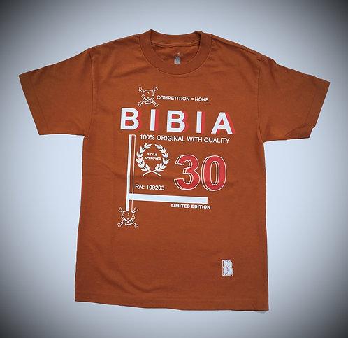 BIBIA Vintage Brand Texas Orange T-shirt