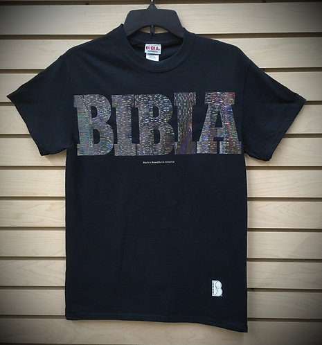 BIBIA Brand Black Transition T-shirt