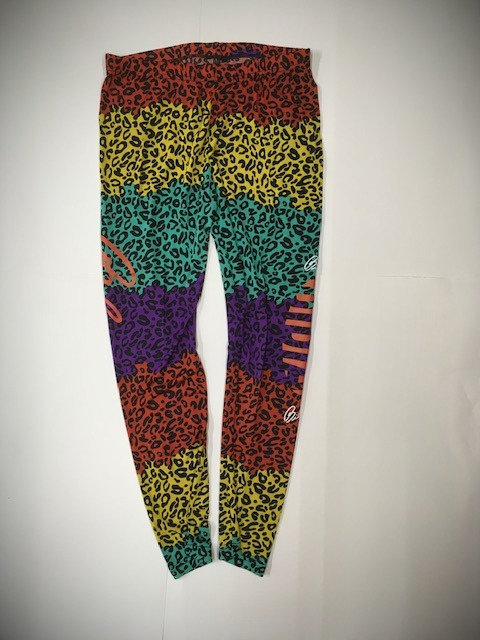 BIBIA Multi Color Leopard Leggins