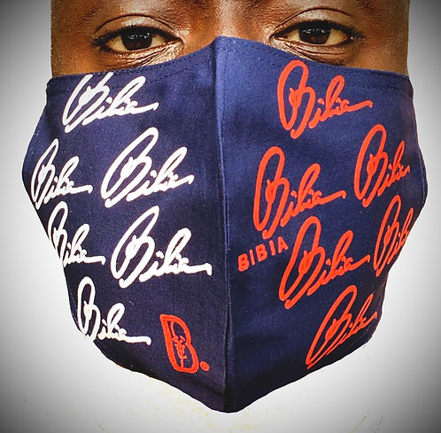 BIBIA Brand America Mask (Reusable, Washable, Breathable)