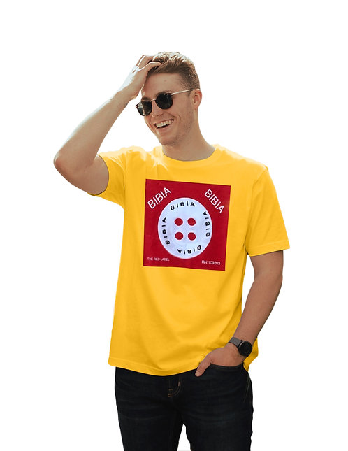 BIBIA Brand Couture Button T-shirt