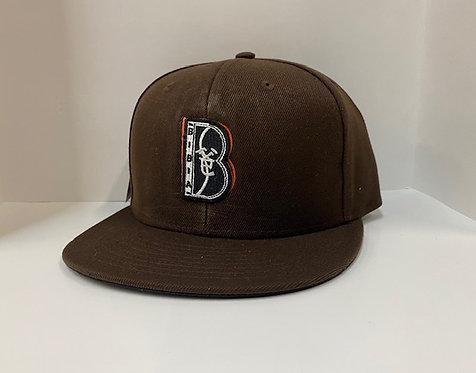 """BIBIA Brand Classic""""B""""Logo Cap"""