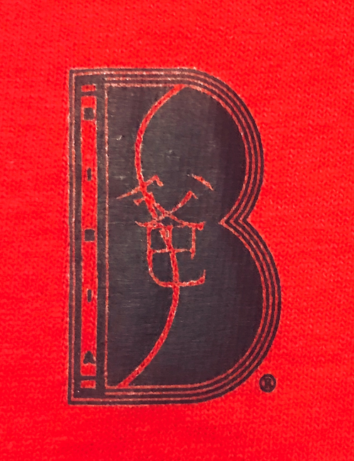BIBIA Brand Couture  True Red T-shirt