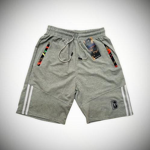 BIBIA Ash Grey Contrast Shorts