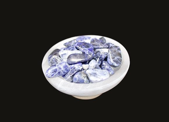 Selenite Bowl with Foot