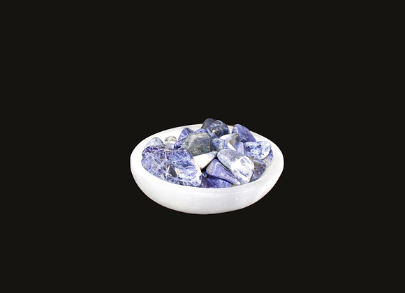 Circle Selenite Bowl