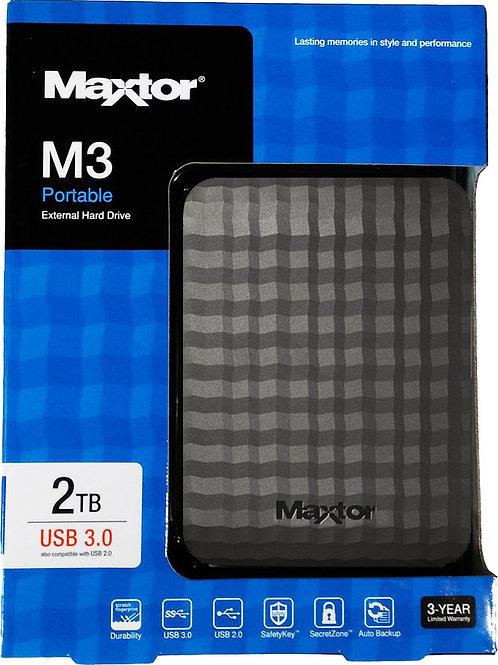 Maxtor M3 2TB External HDD