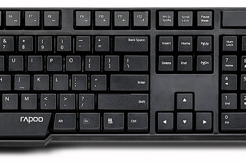 Rapoo 1830 Wireless Keyboard and Mouse Combo