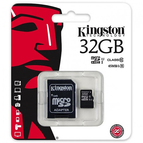 Kingston Micro SD Adapter Pack 32GB