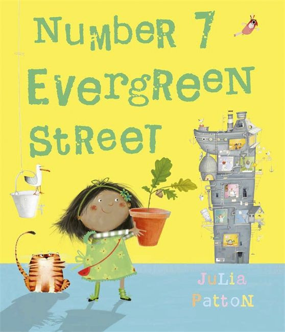 Number 7 Evergreen Street cover