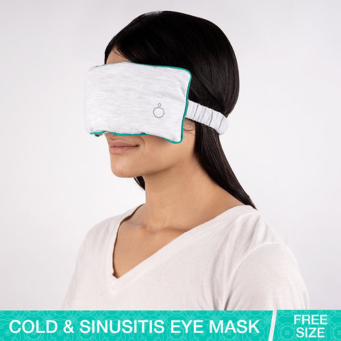 Omved SLEEP EASY Relaxing Travel Eye Mask with Mild Aroma of Herbs and Essential