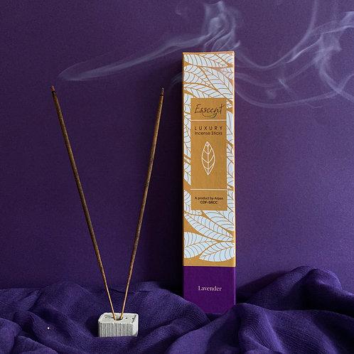 Esscent- Lavender Premium Flower-based Incense Sticks
