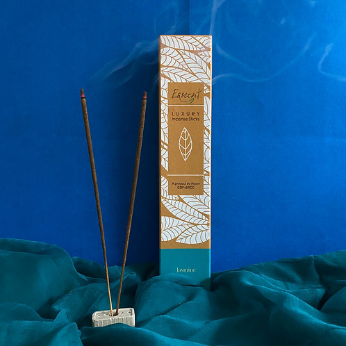 Esscent- Jasmine Premium Flower-based Incense Sticks