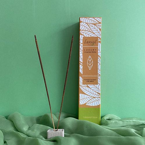 Esscent- Lemongrass Premium Flower-based Incense Sticks
