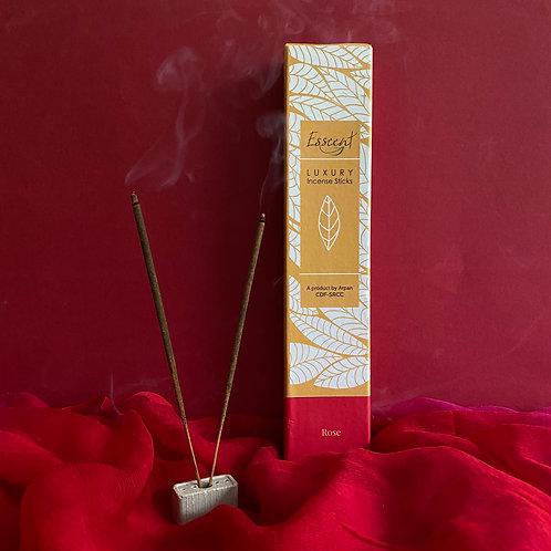 Esscent- Rose Premium Flower-based Incense Sticks