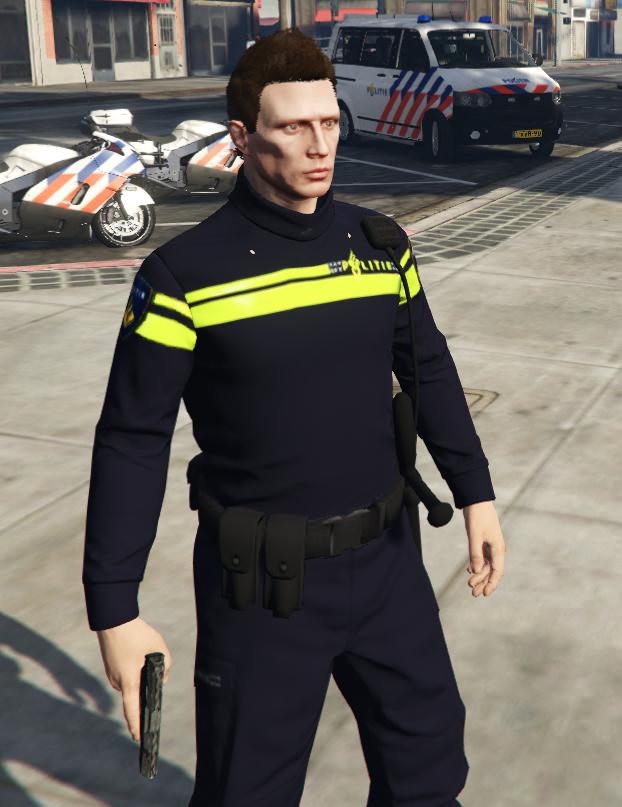 Gta 5 police uniform mod