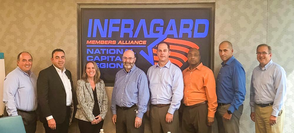 InfraGardNCR Board of Directors (not pictured Kristi Horton and Sam Khashman)