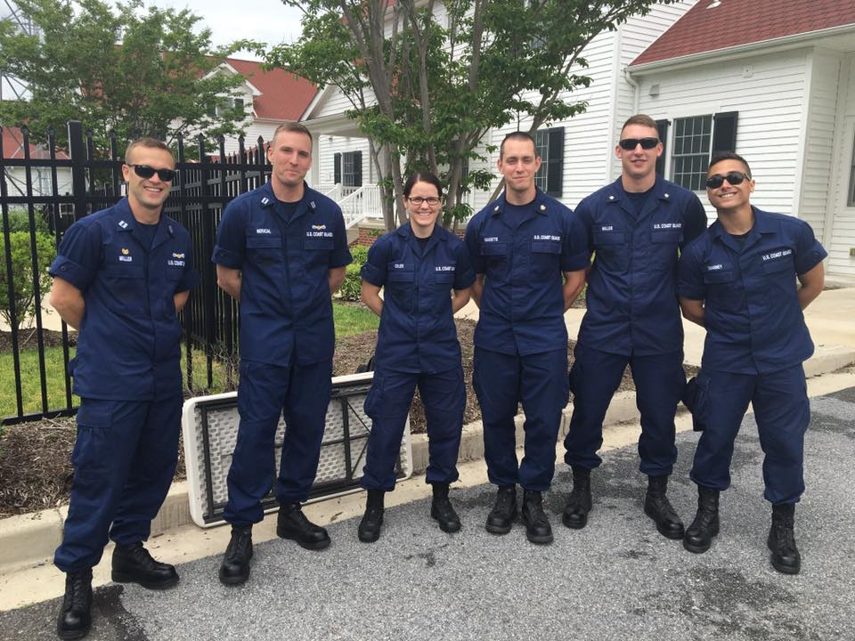 WHS USCG Coasties 2016