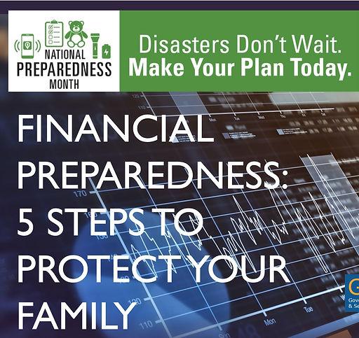 fiinancial preparedness icon hstoday NPM