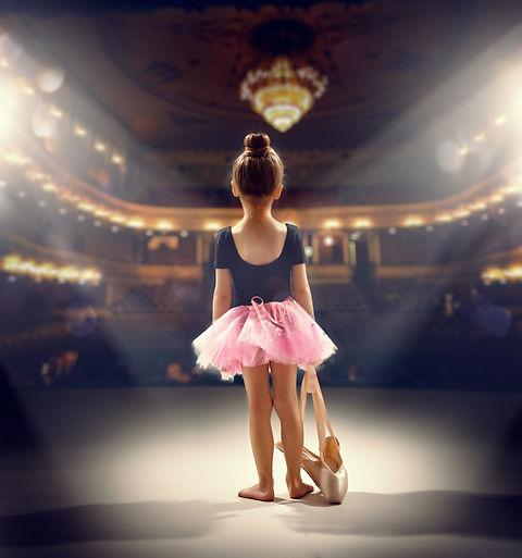 little girl plays in the ballet.jpg