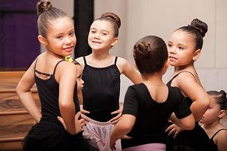 Beautiful little girls wearing tights an