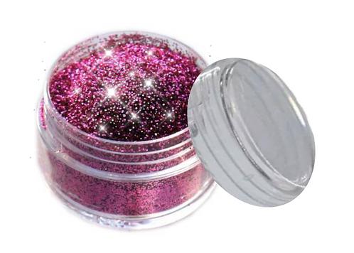 Kosmetik Glitzer Farbe: PINK