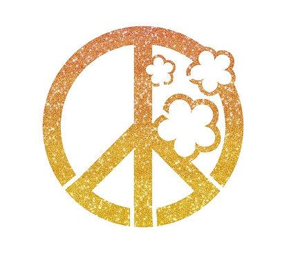 Schablone PEACE
