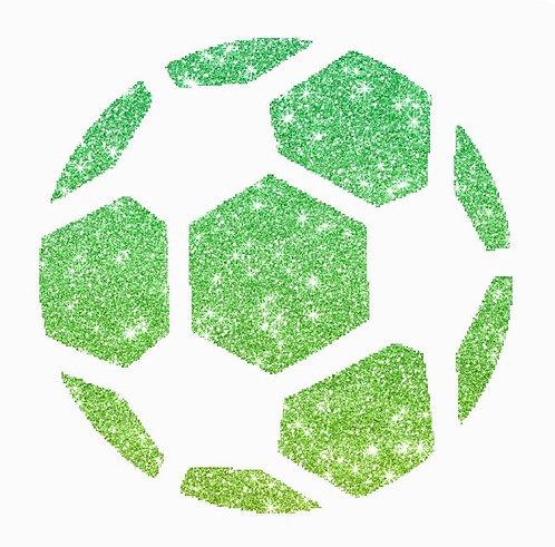Schablone FUßBALL