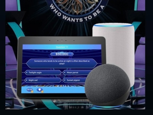 """Relaunch: """"The Who Wants To Be A Millionaire"""" Voice Skill"""