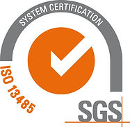 Surgical Dynamics SGS ISO 13485 16 System Certification Logo