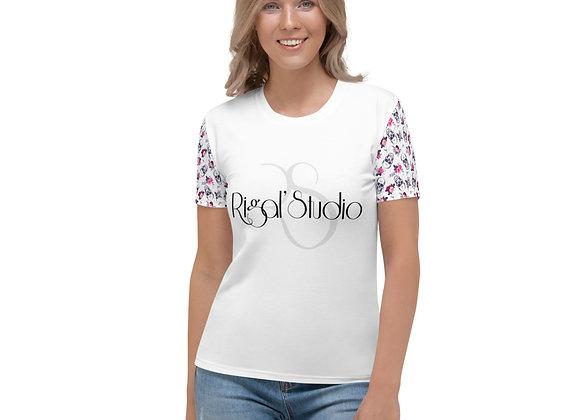 T-shirt femme SKULLFLOWERS