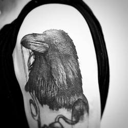 TATTOO CORBEAU